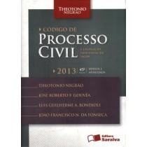 Codigo De Processo Civil E Legislacao Civil Em Vigor - 45ª Edicao504046.9