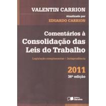 Comentarios A Consolidacao Das Leis Do Trabalho - 36ª Ed125691.2