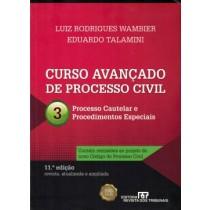 Curso Avancado De Processo Civil - Vol. 3 - Processo Cautelar E Procedimentos Especiais - 11ª Ed.187807.7