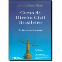 Curso De Direito Civil Brasileiro Vol. 8 - Direito De Empresa - 2ª Edicao179763.8