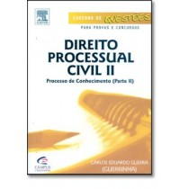Direito Processual Civil Ii - Processo De Conhecimento -Parte Ii133884.6