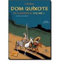 Dom Quixote Em Quadrinhos Vol 2510766.0