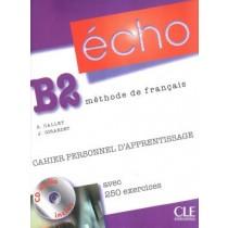 Echo B2 - Cahier Personnel D´Apprentissage  - Cd Audio + Corriges218673.1