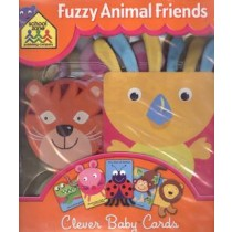 Fuzzy Animal Friends - Clever Baby Cards231870.9