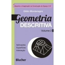 Geometria Descritiva  -Vol 2 - Desenho Imaginacao Na Construcao Do Espaco 3- D524203.7