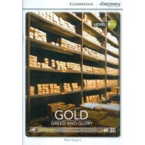 Gold - Greed And Glory Book With Online Access237383.1