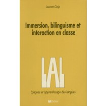 Immersion, Bilinguisme Et Interaction En Classe -Lal123946.5