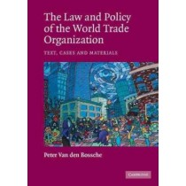 Law And Policy Of The World Trade Organization796086.7