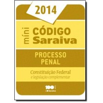 Mini Codigo Saraiva De Processo Penal - 20ª Ed511259.1