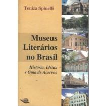 Museus Literarios No Brasil - Historia, Ideias E Guia De Acervosagico173702.3