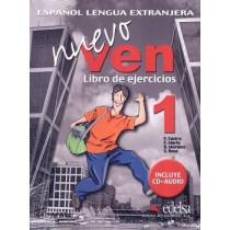 Nuevo Ven 1 Libro De Ejercicios + Cd Audio123513.3