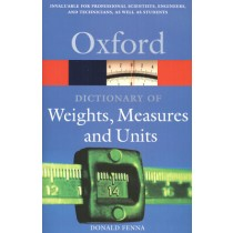 Oxford Dictionary Of Weights, Measures And Units232046.0