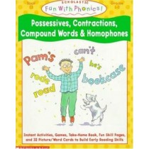 Possessives, Contractions, Compound Words & Homophones - Book 15212103.4