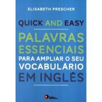 Quick And Easy - Palavras Essenciais Para Ampliar O Seu Vocabulario Em Ingles535593.1