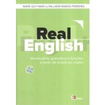 Real English - Vocabulario, Gramatica E Funcoes A Partir De Textos Em Ingles - Com Cd165407.1