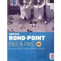 Rond-Point Pas A Pas A2 Eleve+Cahier+ Cd223682.6