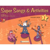 Super Songs & Activities 1 Teacher´S Book With Audio-Cd296549.6