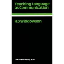 Teaching Language As Communication205370.5