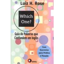 Which One? Guia De Palavras Que Confundem Em Ingles - Com Exercicios Para Pratica E Fixacao172025.2