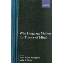 Why Language Matters For Theory Of Mind799353.3