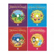 Coleção Para Ler, Ouvir e Assistir - 4 volumes